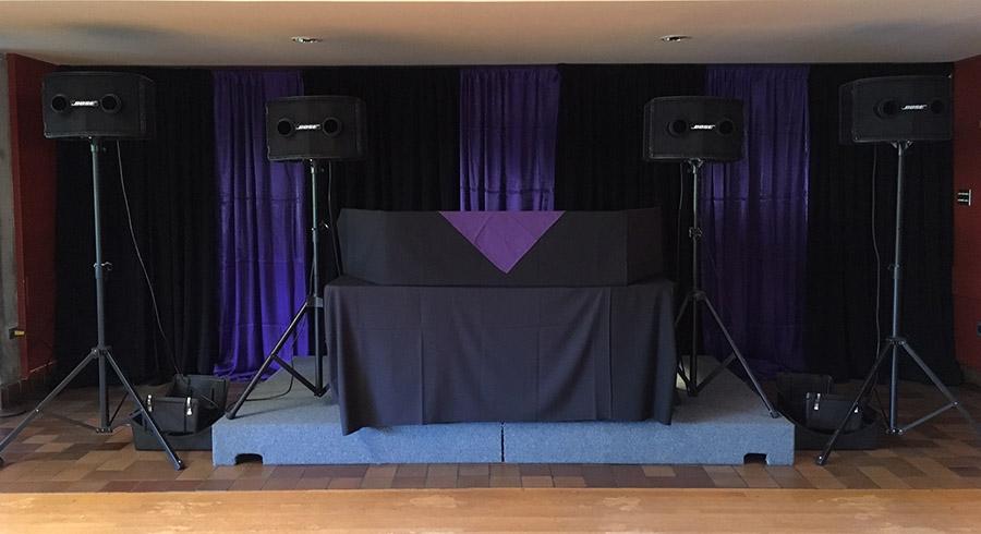 Sound Equipment setup
